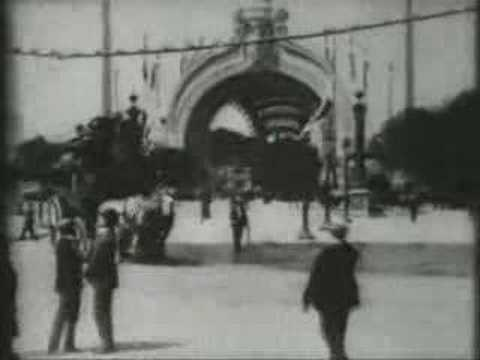 Paris in 1900 - Exposition Universelle [Rare Footage]