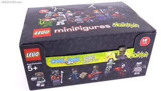 LEGO Series 14 Monsters minifigs - Opening 20 mystery packs! 1/3