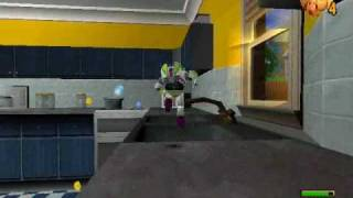 Toy Story 2 Walkthrough Level 1: Andy's House