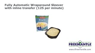 T Freemantle Ltd - Wraparound Sleever 125 packs per minute