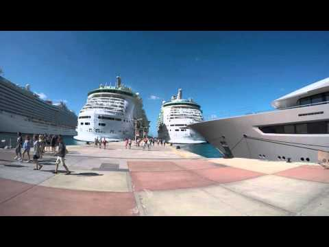 St. Maarten cruise ship dock 030816 Freedom of the Seas