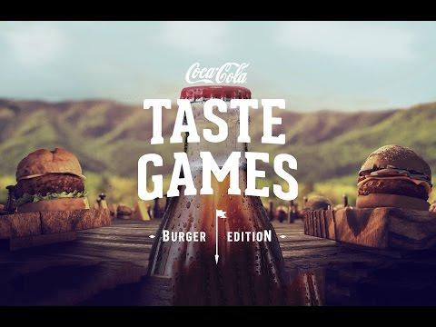 COCA-COLA TASTE GAMES: BURGER EDITION