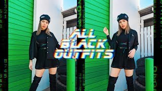 All Black Outfits That Aren't Boring AF!