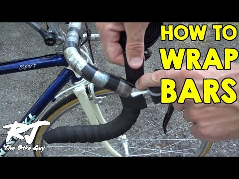 How To Tape Wrap Road Bike Handlebars