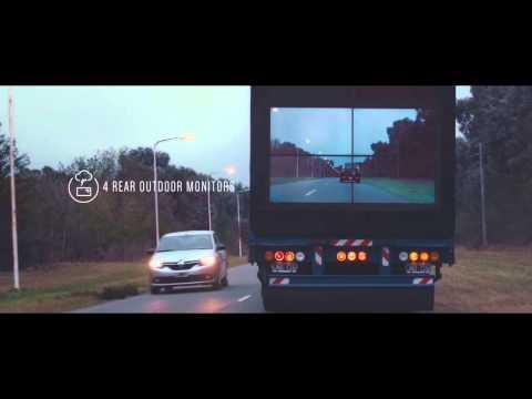 Veamos una nueva e innovadora forma de evitar accidentes de tráfico en adelantamientos...
