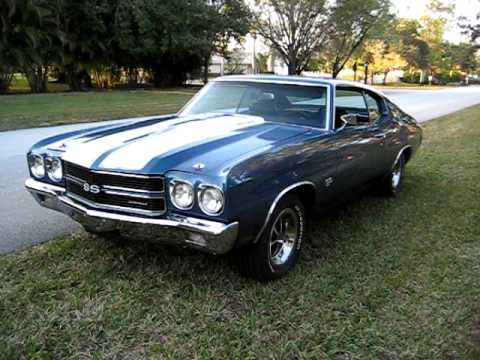 1970 Chevelle SS 396 L78 (solid lifter) walk around - American Old School Muscle