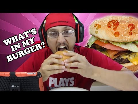 WHATS IN MY BURGER?  The Nastiest, Grossest Video Ever! ... on our channel. (FGTEEV gross GAMEPLAY)