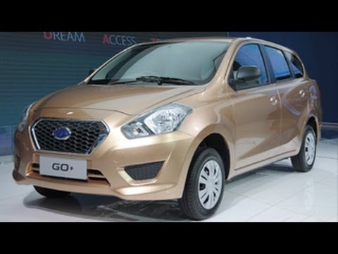 Datsun GO Plus MPV in India at Delhi Auto Expo 2014 !
