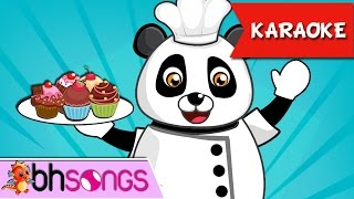The Muffin Man Karaoke | Nursery Rhymes | Kids Songs [Ultra 4K Music Video]