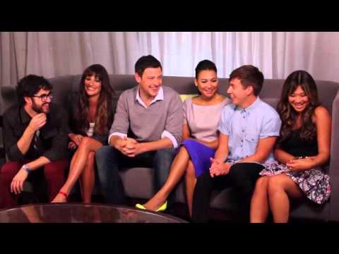 Favorite Glee Cast Moments (part 1) video