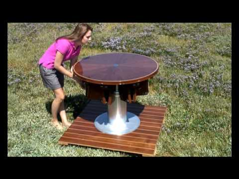 rising and furling table youtube