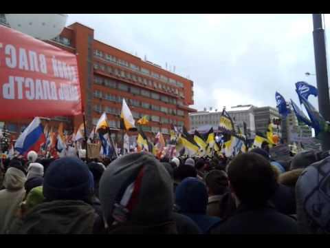 Митингующие освистали Ксению Собчак