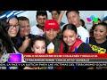 """Pueblo nicaragüense recibe al tetracampeón Román """"El Chocolatito"""" González"""