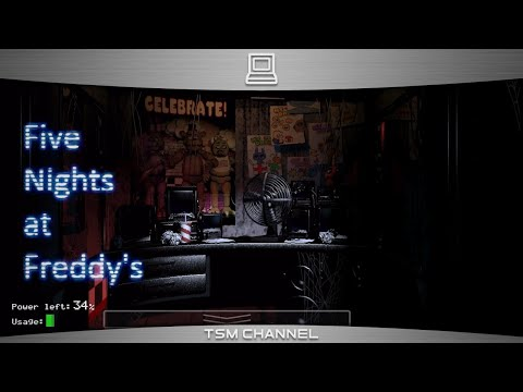 Five Nights at Freddy's Gameplay