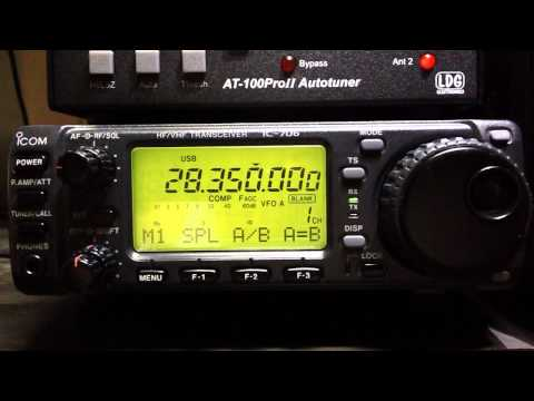 ICOM IC- 706 ORIGINAL 10 METER RAGCHEWING