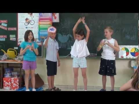 Nursery Rhymes 3rd grade  B Esperanza school 2012