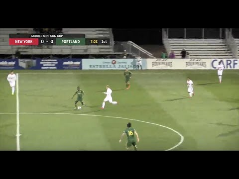 LIVE: New York Red Bulls vs. Portland Timbers   MLS Preseason