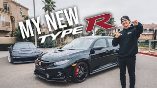 TAKING DELIVERY OF MY NEW 2018 CIVIC TYPE R!