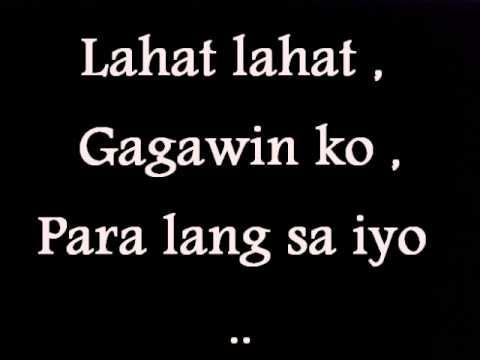 Callalily - Dito Ka Lang