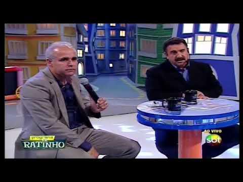 Claudio Duarte no Programa do Ratinho - 24/04/2014 - Dois Dedos de Prosa