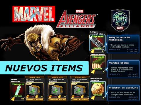 marvel avengers alliance ATAQUE SIN ARMAS