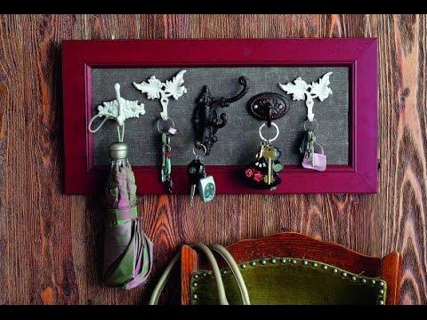 Ключница своими руками из подручных материалов