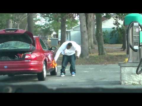 Black Dude Washing Car W  Poop Stains video