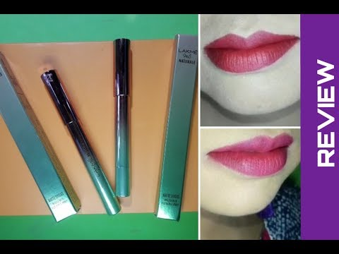 Lakme 9 to 5 naturale matte sticks lipstick review|Fuchsia alley|crimson town|Beauteous Reshmi