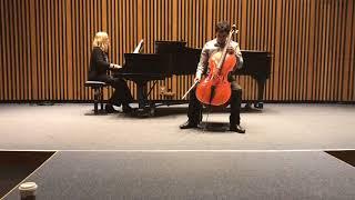 Dvorak Cello Concerto in B minor — I. Allegro. Cello: Adrian Gomez