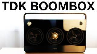 TDK 3 Speaker Boombox Unboxing & Overview