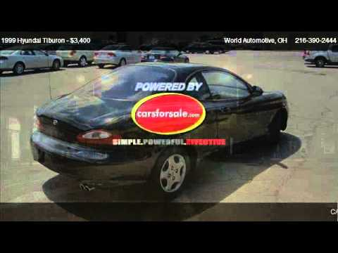 1999 Hyundai Tiburon Base - for sale in Euclid, OH 44132
