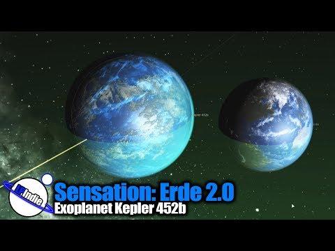 Sensation Erde 2.0 - Exoplanet Kepler 452b