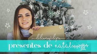 RECEBIDOS & SUGESTÕES de presentes de NATAL // LILIANA FILIPA