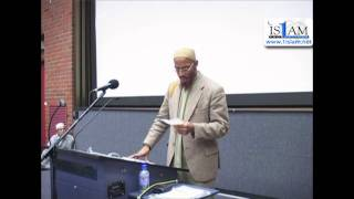 The Purpose Of Life Part 3 (2 of 2)  |  Khalid Yasin