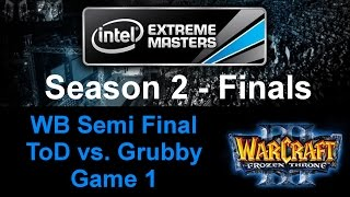 Wc3 IEM S2 - WB Semi Final - ToD vs. Grubby - Game 1