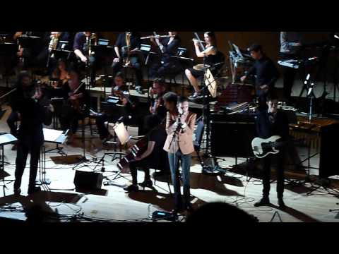 "Efterklang - ""Hollow Mountains"" live w/ Orchestra. MET Museum. New York City 9-22-12"