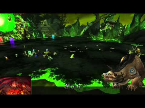 [World of Warcraft] Hellfire Citadel Druid Tank LIVE : Heroic Farm