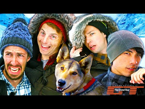 The Try Guys Race Dog Sleds • Dirty Tour: Part 3