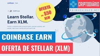 Coinbase Earn - Oferta de $50 em Stellar (XLM)