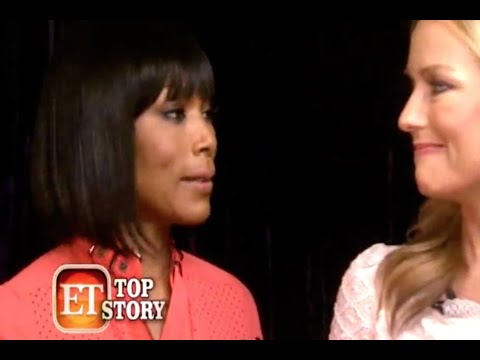 Angela Bassett speaks out about Whitney Houston's family not supporting the biopic
