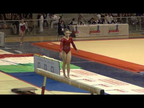 Rebecca Bross (USA) Jesolo 2012 - BB - 14.150