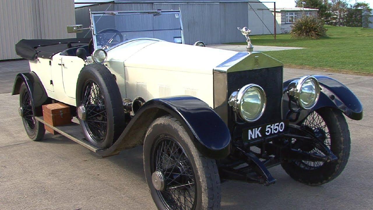 Rolls royce silver ghost 1922 youtube