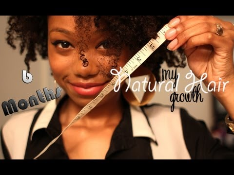 ♡ Natural Hair Growth | 6 Month Protective Styling Challenge (RESULTS) ♡