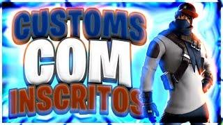 🔴 CUSTOMS COM INSCRITOS , OBRIGADO POR TUDO!!! || CÓDIGO : JONBOSS