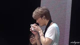 190216 Jaejoong J-PARTY in Taiwan - JJ Drinking Juice