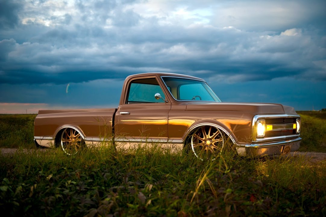 Watch besides Watch in addition File Chevrolet K5 Blazer together with 1969 Ford F100 Pickup Truck also QzEw. on 1972 chevy c10 rat rod