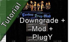 [Tutorial] Diablo 2 downgrade + PlugY + Perfect Drop Mod [Deutsch]