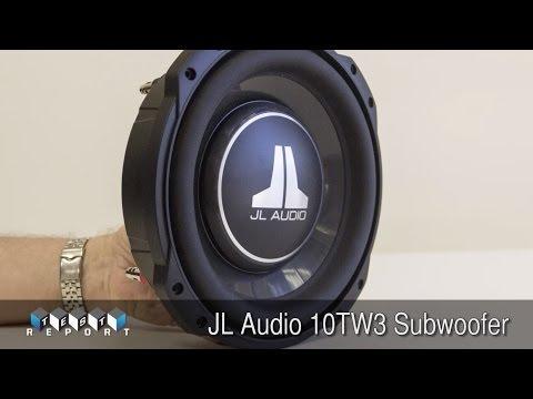 JL Audio 10TW3 Subwoofer