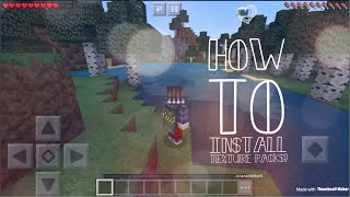 How To Install Texture Packs For MCPE 1.2.7 (IOS 11)