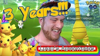 3 YEAR ANNIVERSARY ALOLA EVENT & NEW SHINY POKEMON - NEW SPECIAL JUMP START RESEARCH -POKEMONGO VLOG